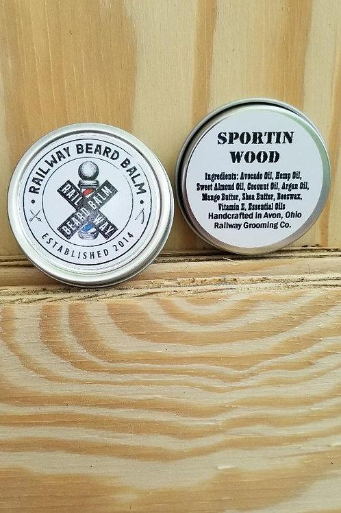Sportin Wood Beard Balm