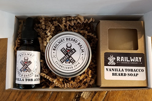 Vanilla Tobacco Gift Set