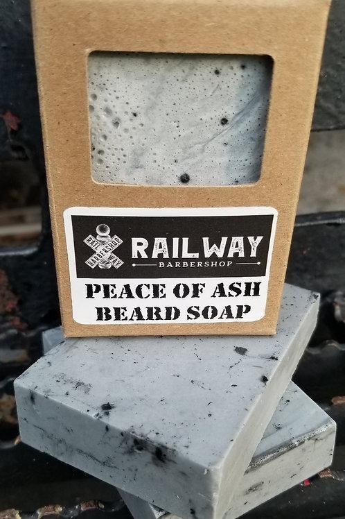 Peace of Ash Beard Soap
