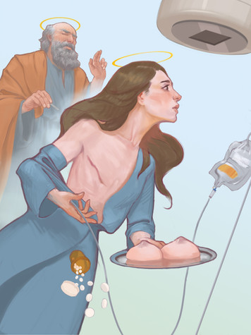 St Agatha and Breast Cancer
