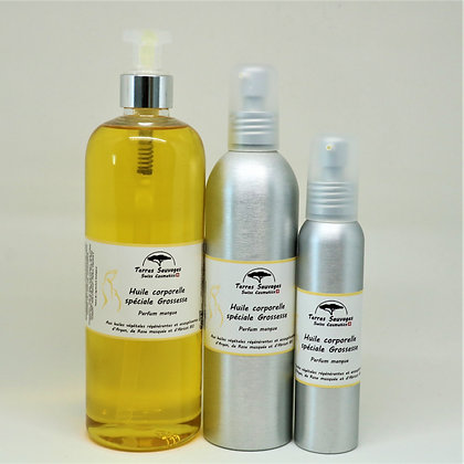 Huile corporelle Grossesse - Parfum mangue