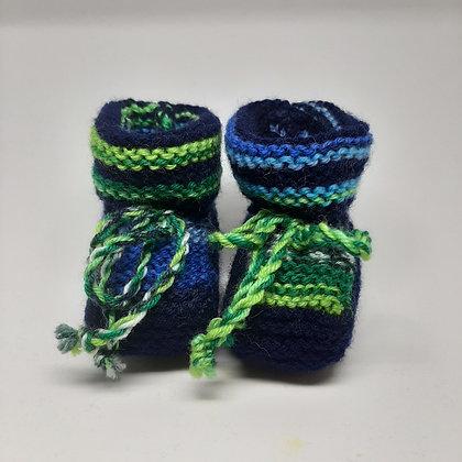 Chaussons en laine pour bébés