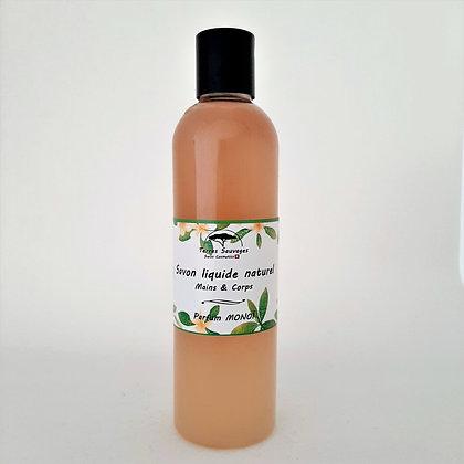 Savon liquide Parfum Monoï