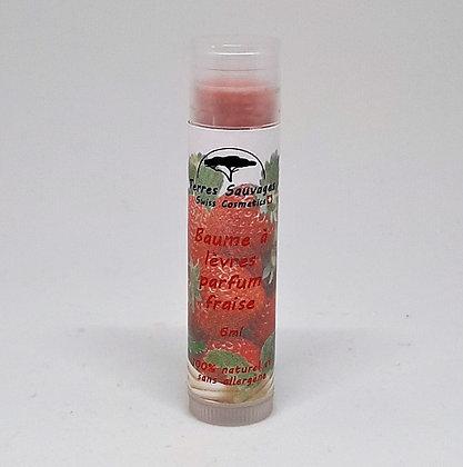 Baume à lèvres parfum fraise