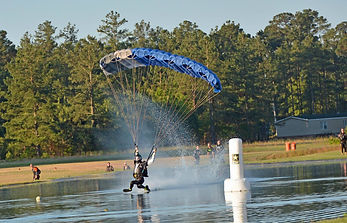 Skydiving in North Carolina