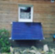 Garten Solaranlage