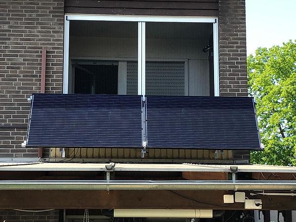 Solar Balkonanlage