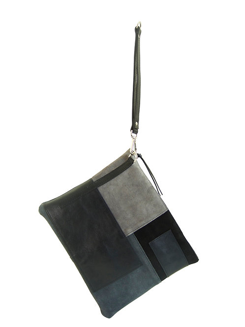 Topanga - Clutch in shades of black