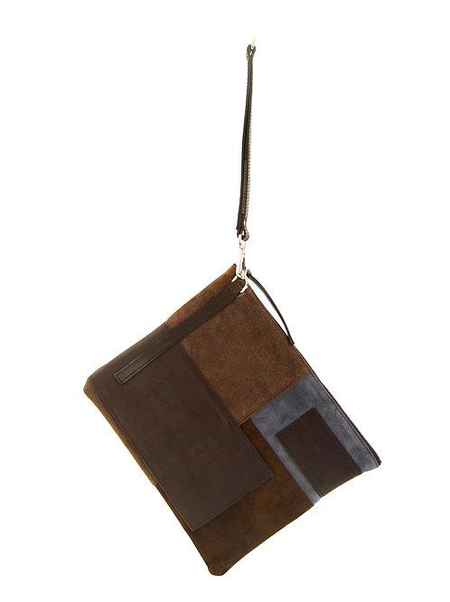 Topanga - Clutch in shades of brown