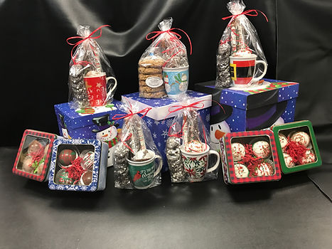 HOT COCOA BOMBS, COOKIES, GIFTS