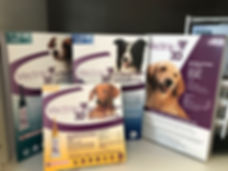 Monthly topical flea and tick preventative