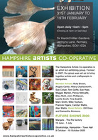 Hampshire Artists Cooperative marketing material 2020