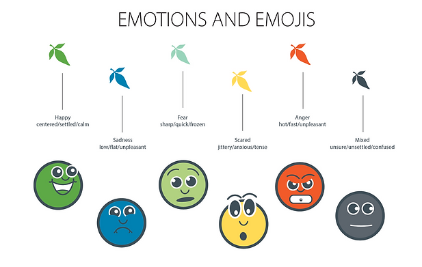 Emotions and Emojis designs by Tina Scahill
