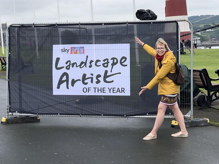 Landscape artist Hoe park