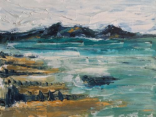 Devon Beach by Tina Scahill