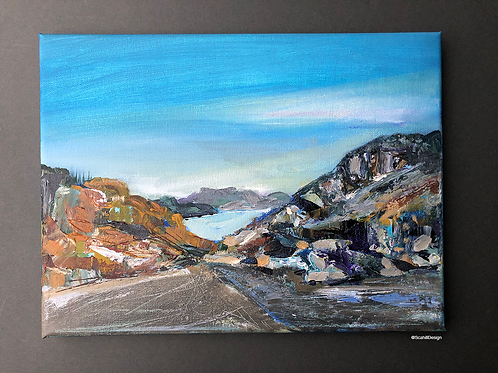 Porthmadog Wales by Tina Scahill
