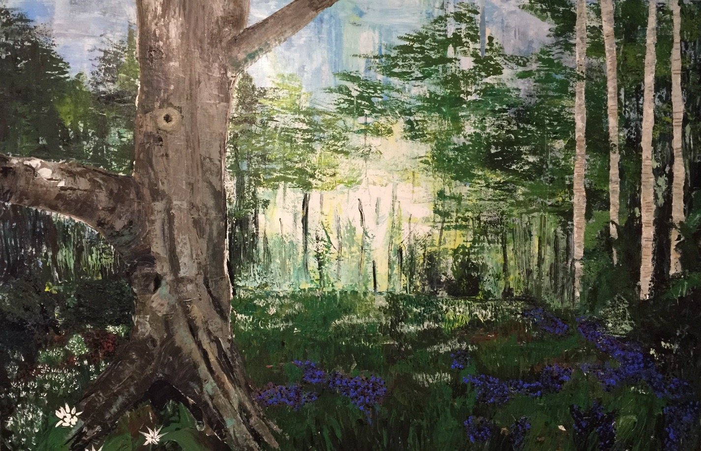 The beech tree by Tina Scahill