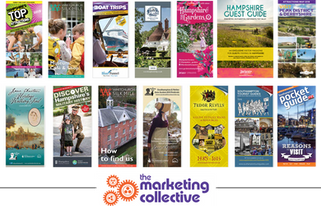 Publication design for The Marketing Collective