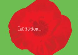Poppy's invitation