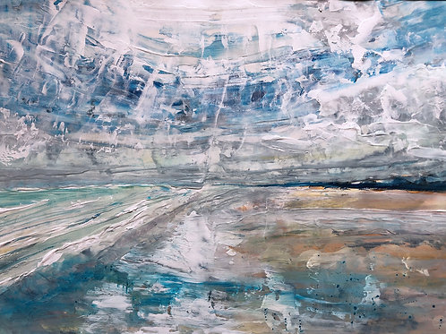 Big Sky West Wittering by Tina Scahill