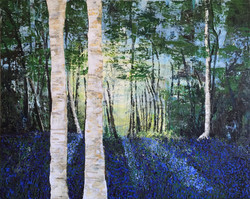 Bluebell woods #2 by Tina Scahill