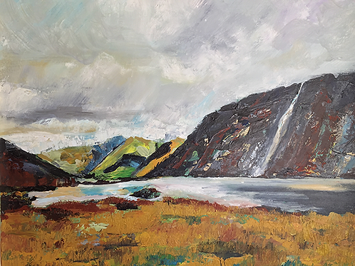 Wastwater Lake District by Tina Scahill