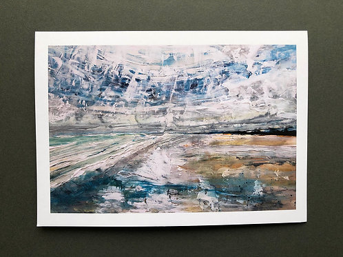 Greeting cards - Two pack - Wittering coastline