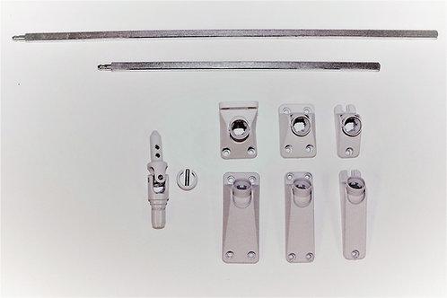Kreuzgelenk (Zapfen), Kurbelplatte und Antriebstab als Set