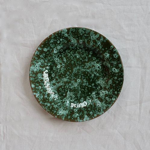 Green Galaxy Side Plate