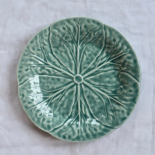 Cabbage Ice Blue Dinner Plate