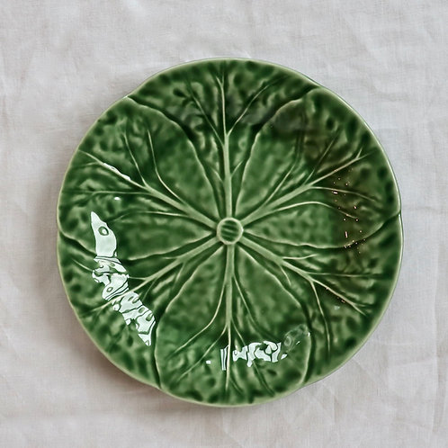 Cabbage Forest Green Dinner Plate