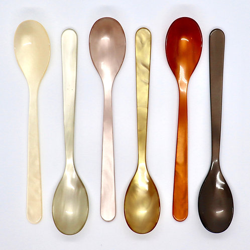 Coffee Caramel Cereal Spoons (set of 6)