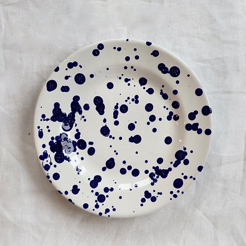 Dotty Blue Side Plate
