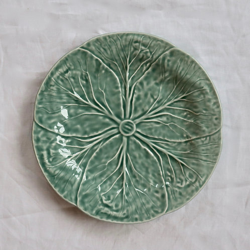 Cabbage Ice Blue Side Plate