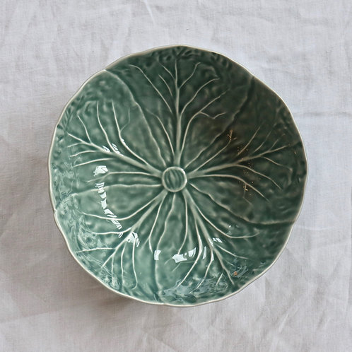 Cabbage Ice Blue Bowl