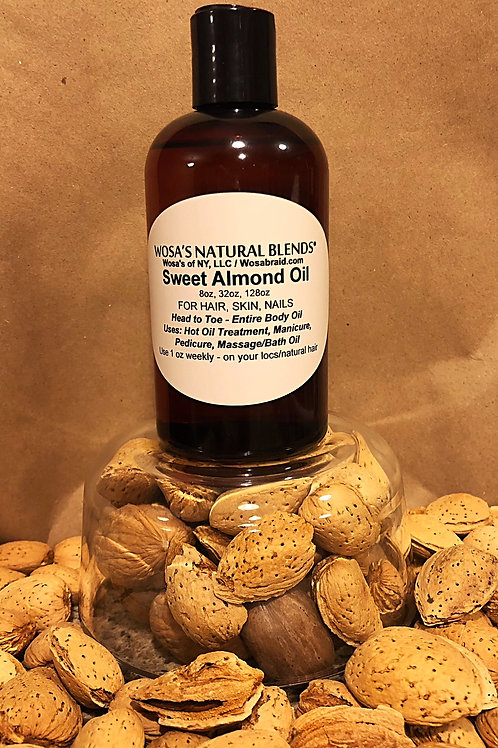 Almond Oil (sweet) (Scented or Unscented)