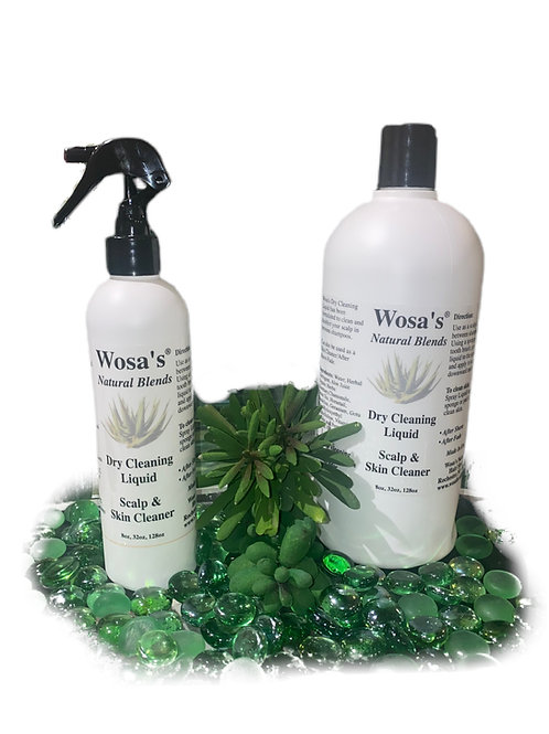 Dry Cleaning Liquid - for scalp and skin