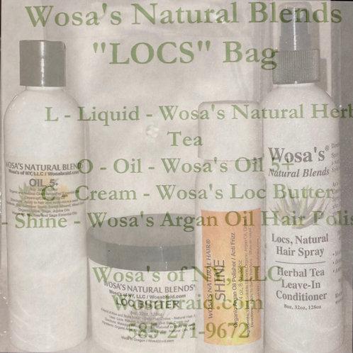 """""""LOCS"""" Bag (Liquid, Oil, Cream, Shine)"""