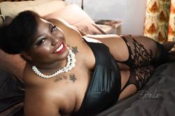 Beautiful African American Boudoir Photography, Becky Lynn Photography