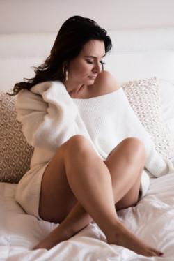 Subtle Boudoir Photography Idea - boudoir photo shoot outfit
