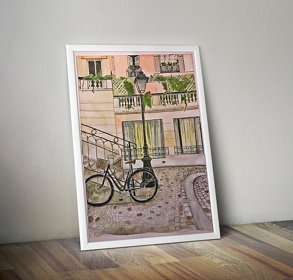 Montmartre A3 print