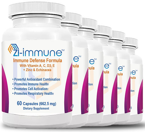 6 Zi-immune (60 capsules 662.50 mg) 6 Months