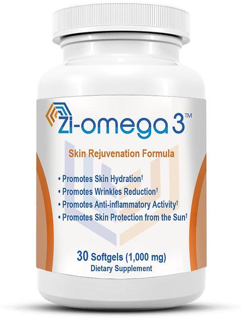 1 Zi-omega 3 (30 Softgels 1,000 mg) 1 Month