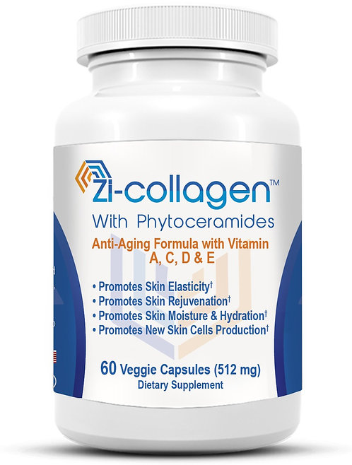1 Zi-collagen (60 Capsules 512 mg) 2 Months
