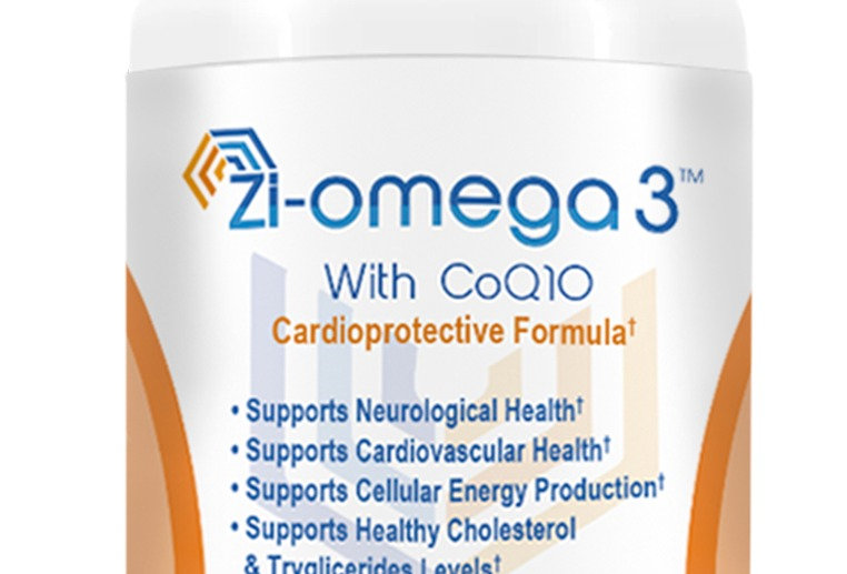 1 Zi-omega 3 with CoQ10 (60 capsules 1330 mg) 1 Month