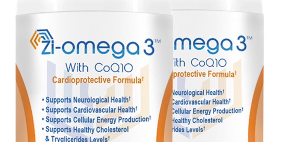 2 Zi-omega 3 with CoQ10 (60 capsules 1330 mg) 2 Months