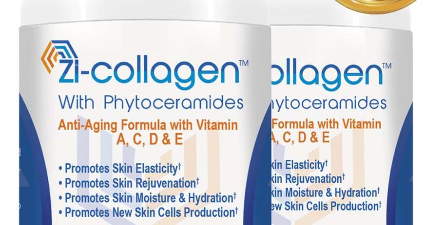 2 Zi-collagen (60 Capsules 512 mg) 4 Months