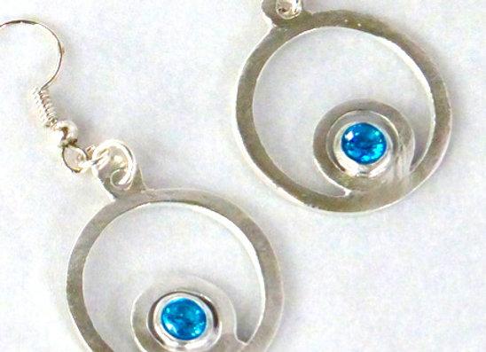 Encircled Circle Earrings