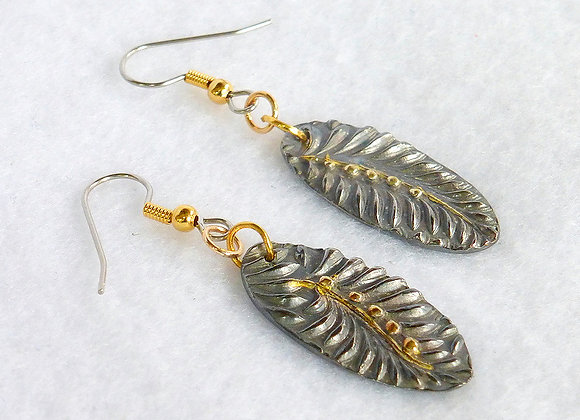 Black and Gold Leaves