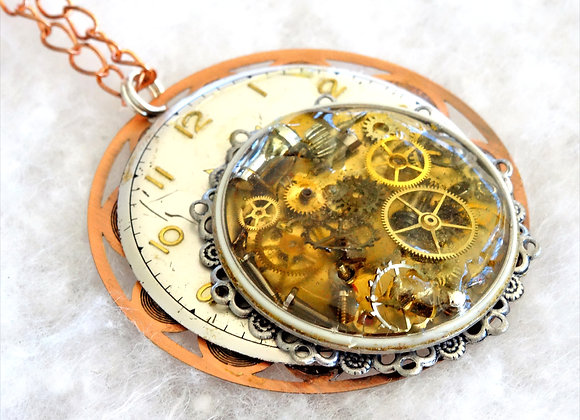 Watch Collage Pendant